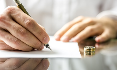 opstellen van echtscheidingsconvenant